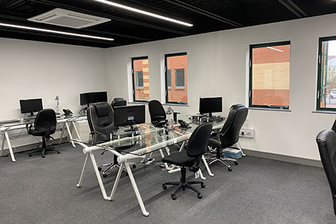 Office space refurbishment in Bristol